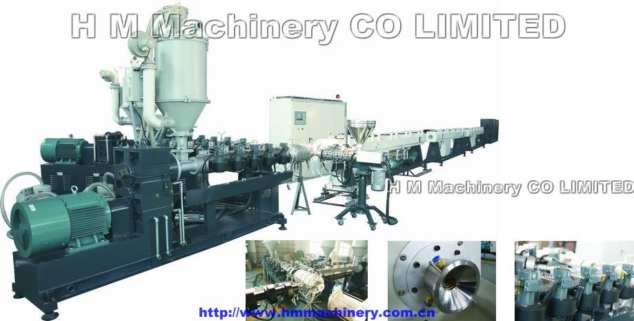 PPR-Fiber-PPR Mutilayer Pipe Extrusion Line