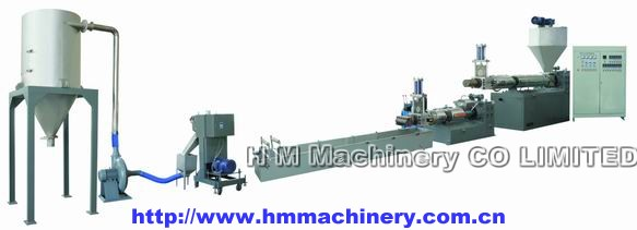 2 STAGE RECYCLING&GRANULATING UNIT